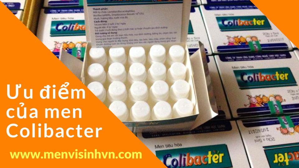 tác dụng của men vi sinh Colibacter
