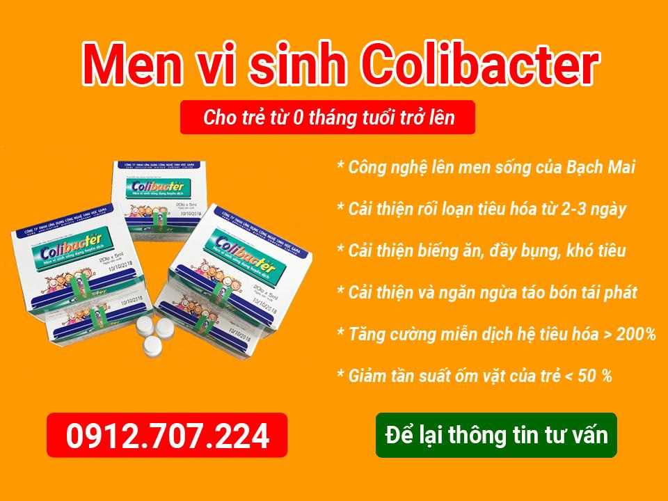 men vi sinh sống Colibacter