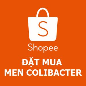 đặt mua men Colibacter trên Shopee