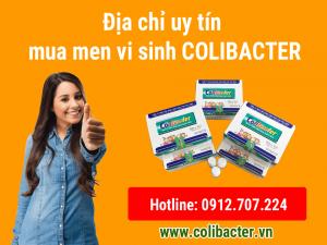 địa chỉ mua men vi sinh colibacter ở đâu